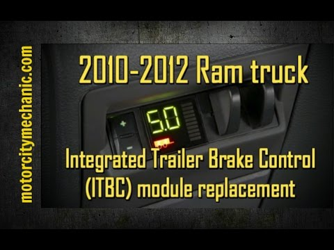 ram truck integrated trailer brake control itbc