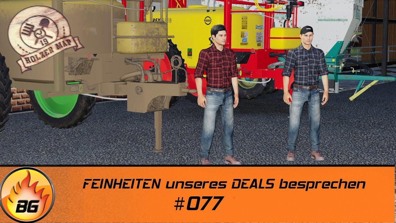 LS19 - Holzer Challenge #077 | FEINHEITEN unseres DEALS besprechen | FS19 | Let's Play [HD]