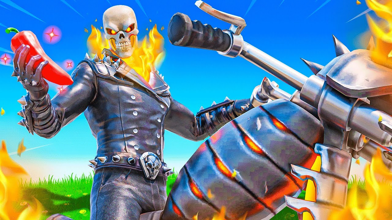 Download The GHOST RIDER Challenge in Fortnite!