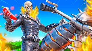 The GHOST RIDER Challenge in Fortnite!