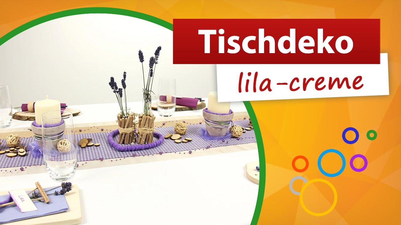 Sommerglas In Lila Und Grun Tischdeko Tischgesteck Mit Kunstlichen
