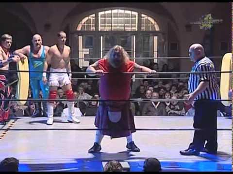 Wrestling Stars 6-men action