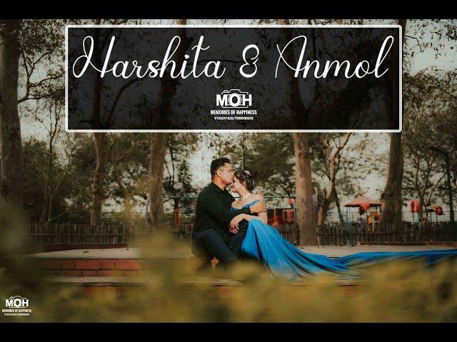 BEST PRE-WEDDING SHOOT PATNA  || HARSHITA & ANMOL | DIL KO KARAR AAYA || MOH - MEMORIES OF HAPPINESS