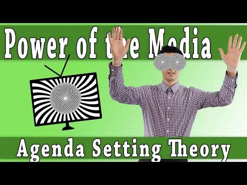 Media Theory: Agenda Setting Theory