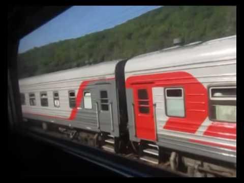 Поездка из Туапсе в Грязи на поезде 460С Адлер-Тамбов