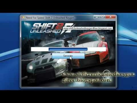 Need For Speed Shift 2 Unleashed serial number download