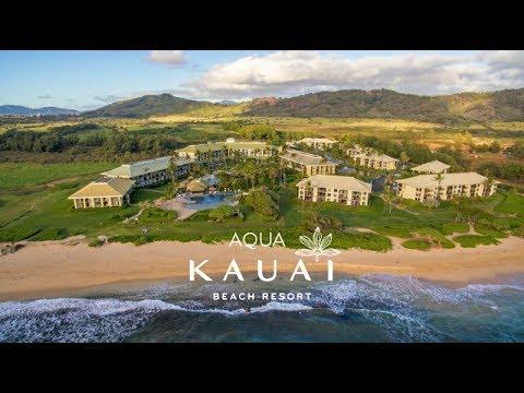 Aqua Kauai Beach Resort Rainforest Spa Hawaii