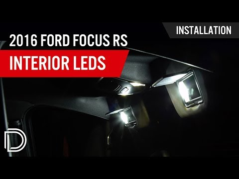 How To Install 2016 Ford Focus Rs Interior Led Lights Youtube