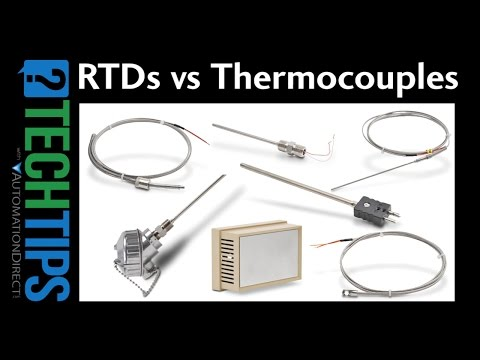 Tech Tip: RTD vs Thermocouple