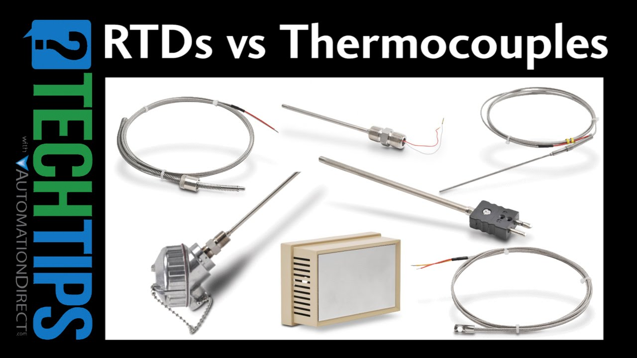 hight resolution of tech tip rtd vs thermocouple temperature sensors youtube thermocouple wire colors rtd thermocouple wiring