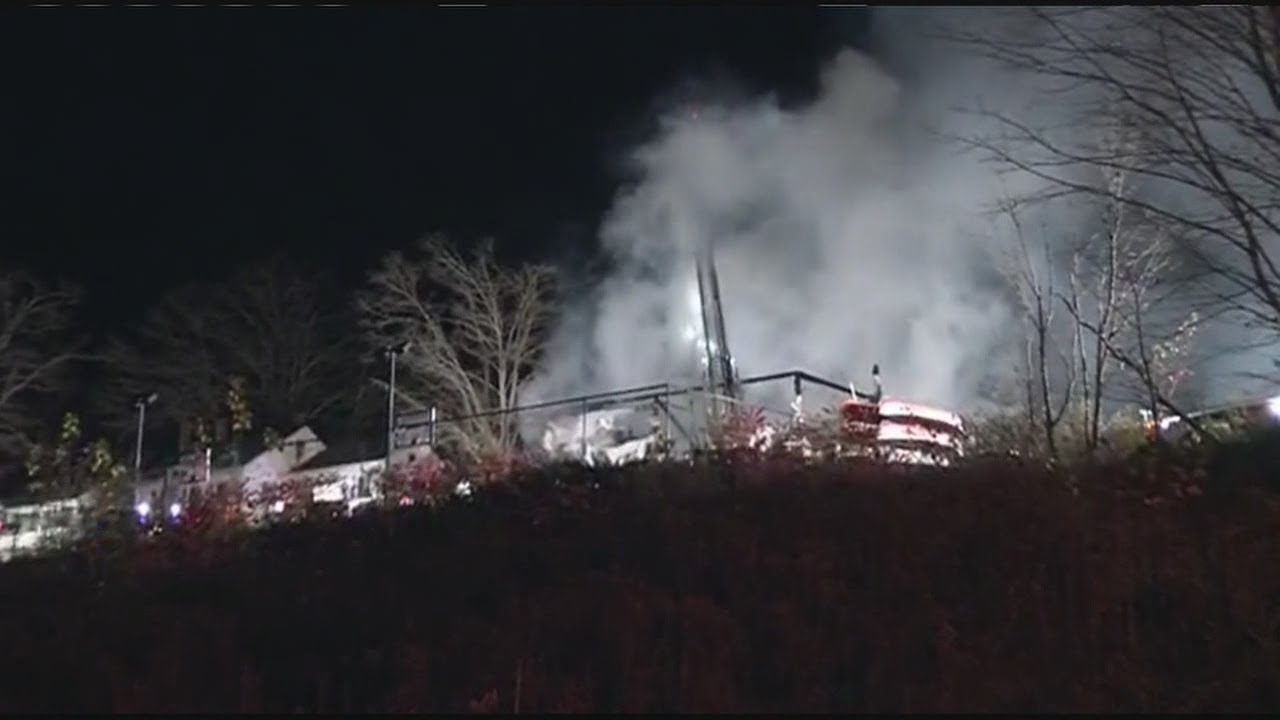 Fire erupts at a North Brookfield boarding school