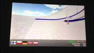 Sochi Ski Jumping 3D - tribute to Kamil Stoch - how to jump over 110 meters.