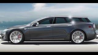 Заряженный универсал Tesla,  разобранная Fabia и гоночный электрогиперкар: свежие автоновости
