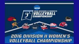 NCAA Atlantic Regional Volleyball Final - #1 Wheeling Jesuit vs #3  Edinboro