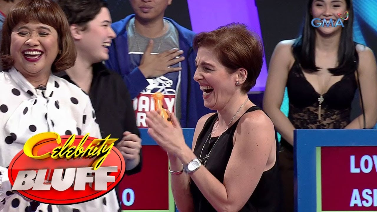 'Celebrity Bluff' Outtakes: Jackie Lou Blanco plays with the sleeping dog