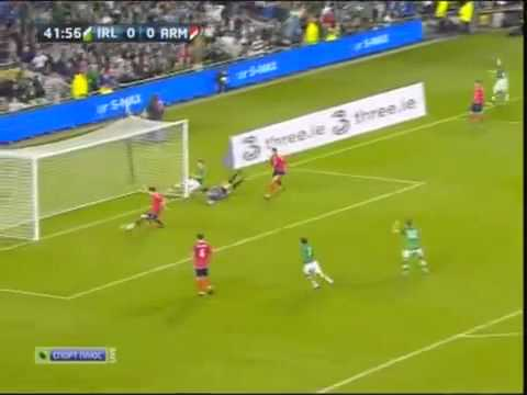 Ireland Vs Armenia 2-1 Qualification EURO 2012 Full  Highlights 11/10/2011