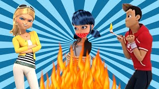 MIRACULOUS LADYBUG is In DANGER 😱 Chloé Set FIRE to HOUSE  🐞 New Episode 2017