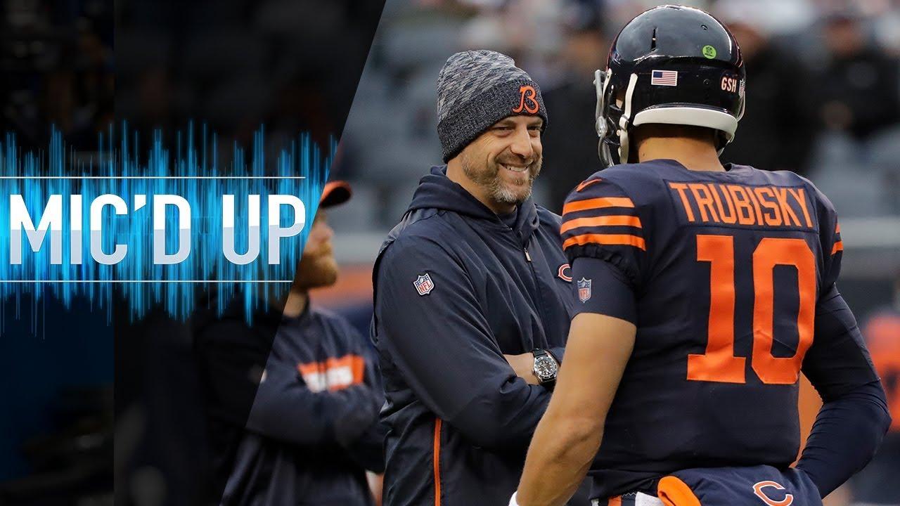 "Matt Nagy Mic'd Up vs. Jets ""A butt equals two"" | NFL Films"