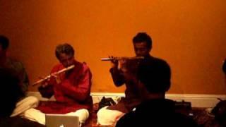 Carnatic Flute Duet with Mohan Rangan and Ravikiran Govindaraj