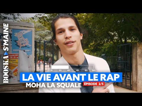 Moha La Squale : Sa vie avant le rap, La Banane, sa mère, la prison... [Booska S'maine 2/5]