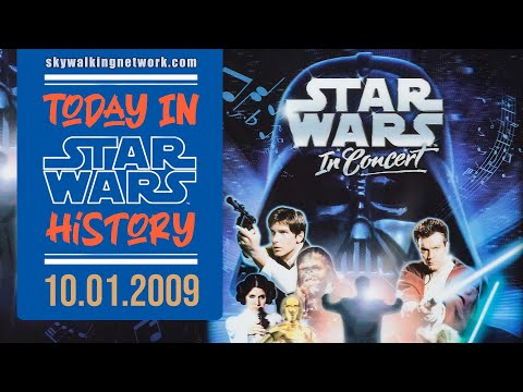"""TODAY IN STAR WARS HISTORY: 10/1/2009 - """"Star Wars: In Concert"""" Debuts at the Honda Center, Anaheim"""