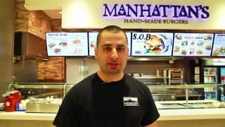 BEST Burgers in Downtown Toronto at Bay Adelaide Centre - Manhattan