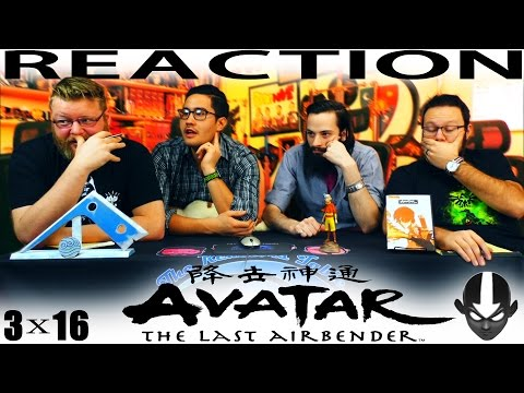 "Avatar: The Last Airbender 3x16 REACTION!! ""The Southern Raiders"""