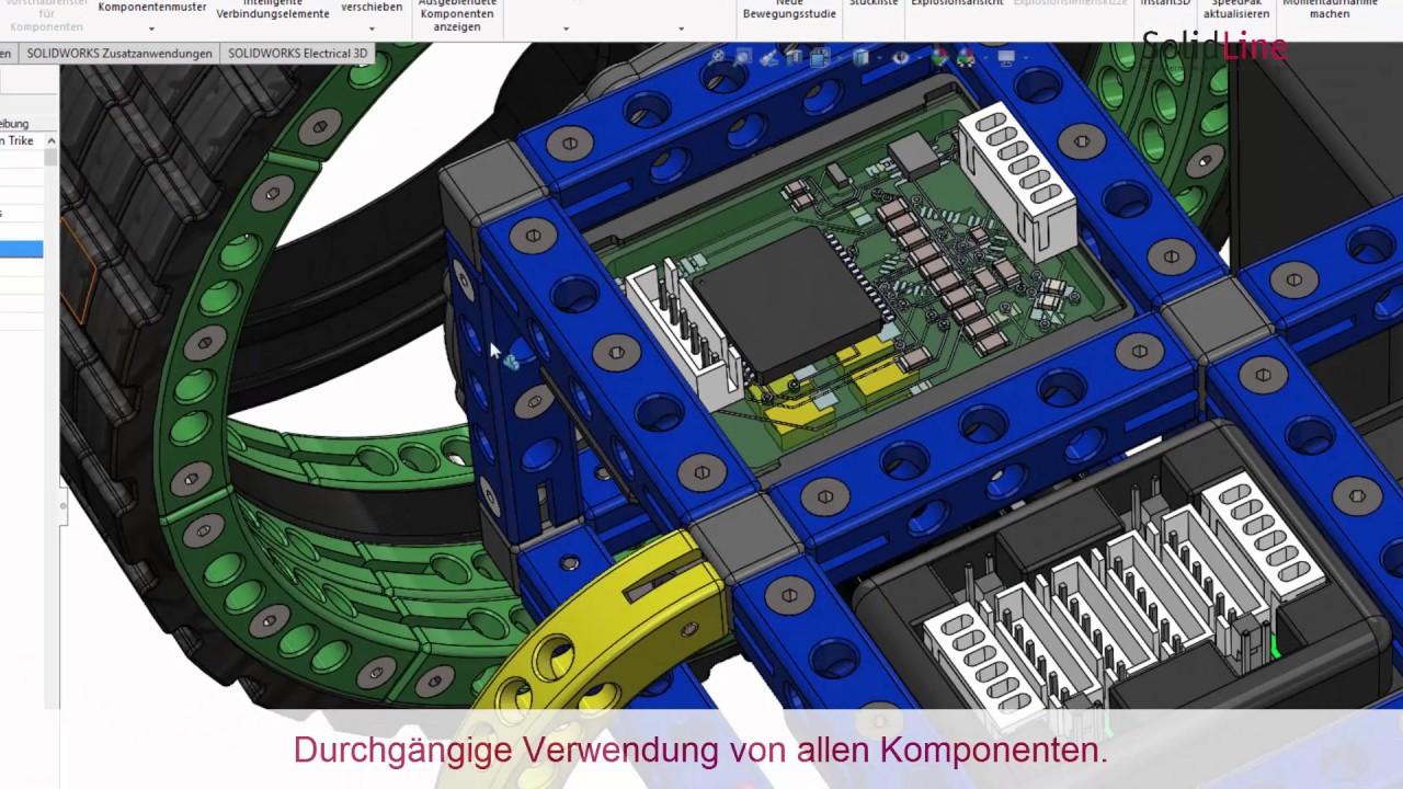SOLIDWORKS - von der Idee zum Produkt: Teil 7 Elektrische Systeme ...