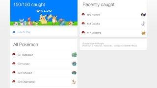 Google POKEMON Challenge Complete! - Official Pokemon Master Free HD Video