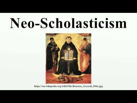 Neo-Scholasticism