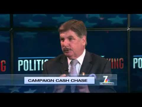 Political Analyst John Dadian on Politically Speaking NBC San Diego-Campaign Cash Change
