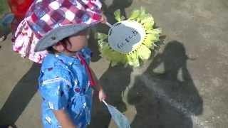 2才8ヶ月、保育園の夏祭りでアンパンマン音頭を踊りましたが、ほとんど...