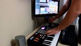 Akai Mpk 49 with Fruity Loops Freestyle Session (DJ Jimmy)