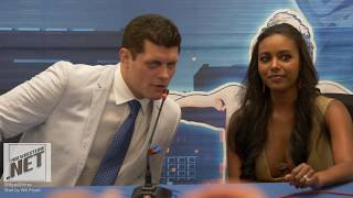 Cody Rhodes tells us why he ditched the blonde, Brandi Rhodes talks wrestling training and injury