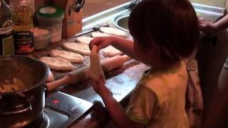 Пирожки с картошкой жареные от Юли и бабушки очень вкусные