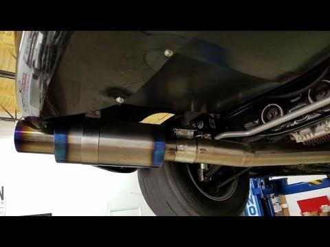 the best exhaust subaru wrx sti invidia full titanium