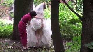 У невесты под платьем