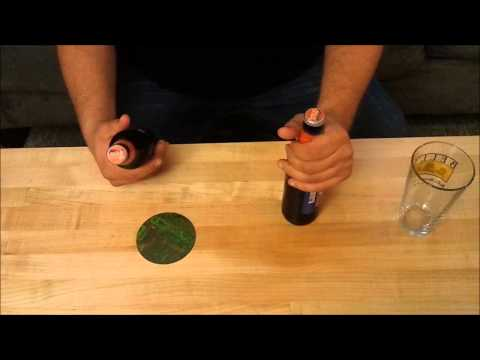 How To Open A Beer Bottle With Another Beer Bottle