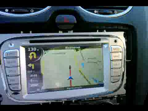 ford focus radio dvd gps youtube. Black Bedroom Furniture Sets. Home Design Ideas
