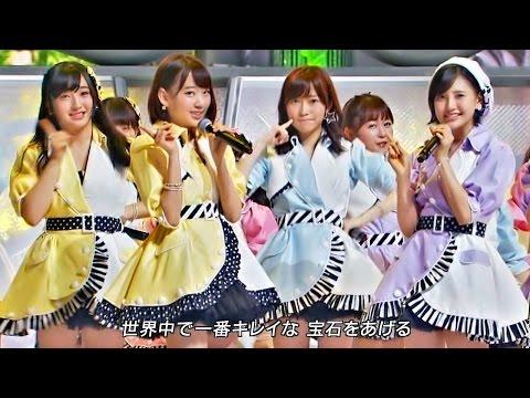 【Full HD 60fps】 HKT48 12秒 (2015.07.29 LIVE) 5th Single