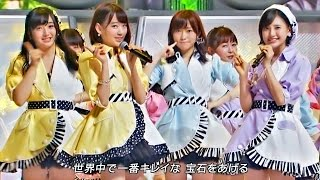 """2015.07.29 ON AIR (LIVE) / Full HD (1920x1080p), 60fps HKT48 5th Single """"12seconds"""" (22/4/2015 Released) 【出演】 HKT48 5thシングル『12秒』選抜メンバー ..."""