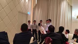 結婚式でおもしろった余興です♪お笑い大好き六人組.