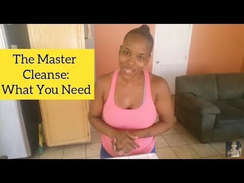 The Master Cleanse: What You Need (Plus tip for doing the Salt Water Flush)