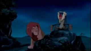 Rafiki en el Rey León