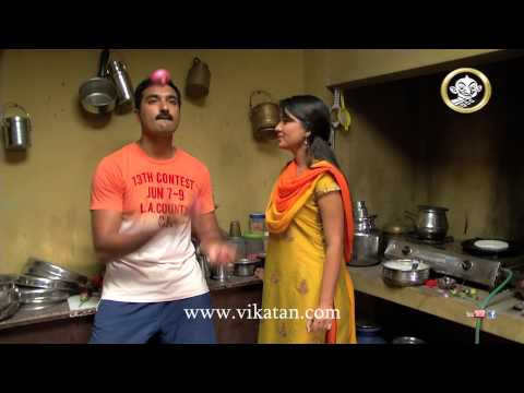 Sathya and Prakash's banter in the kitchen | Best of Deivamagal