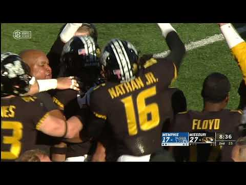 HIGHLIGHTS:  Mizzou takes down Memphis on Homecoming 2018