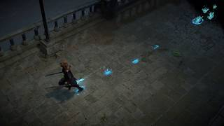 Path of Exile: Azurite Footprints