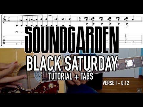 Black Saturday - Soundgarden (Tutorial + Tabs)