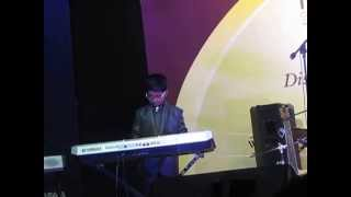 trinity college award function   padmesh playing song