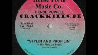 Hense Powell - Stylin And Profilin (Hense Forth Music Co-1986)